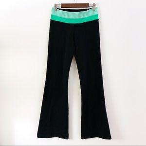Lululemon Black Reversible Flare Pants 1st Gen